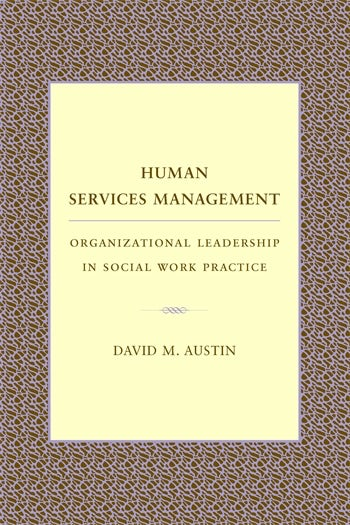 Human Services Management