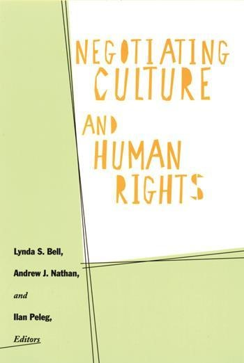 Negotiating Culture and Human Rights