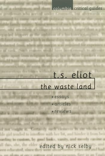 How are issues of faith or belief represented in T.S.Eliot's The Waste Land?