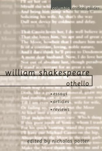 othello by william shakespeare pdf