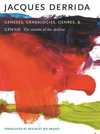 Geneses, Genealogies, Genres, and Genius