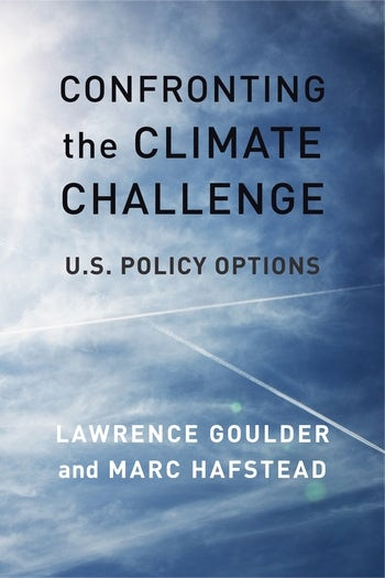 Confronting the Climate Challenge