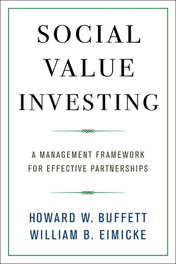 Social Value Investing | Columbia University Press