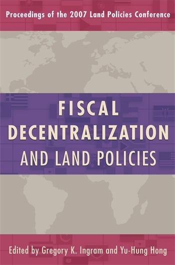 Fiscal Decentralization and Land Policies