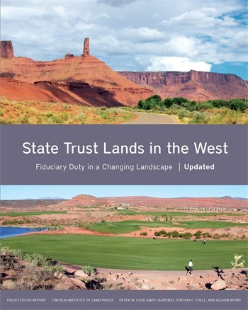 State Trust Lands in the West