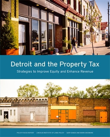 Detroit and the Property Tax