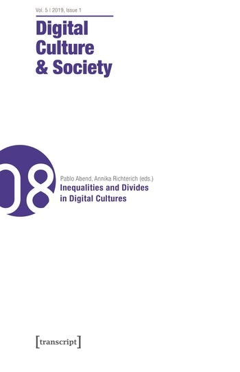 Digital Culture & Society (DCS) Vol. 5, Issue 1/2019