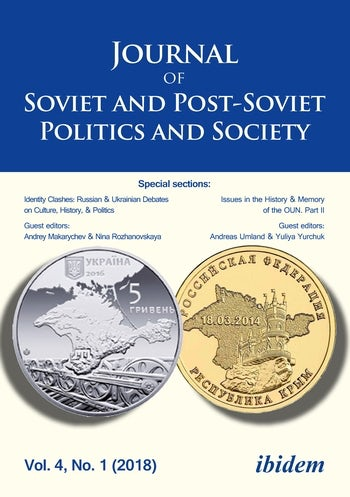 Journal of Soviet and Post-Soviet Politics and Society 2018/1