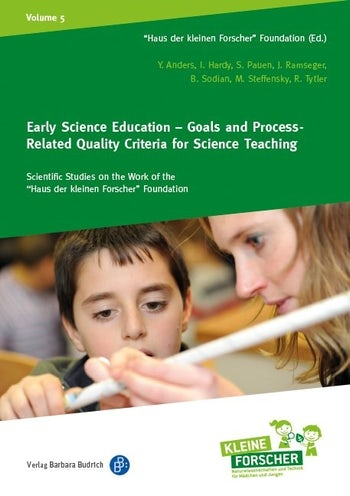 Early Science Education – Goals and Process-Related Quality Criteria for Science Teaching