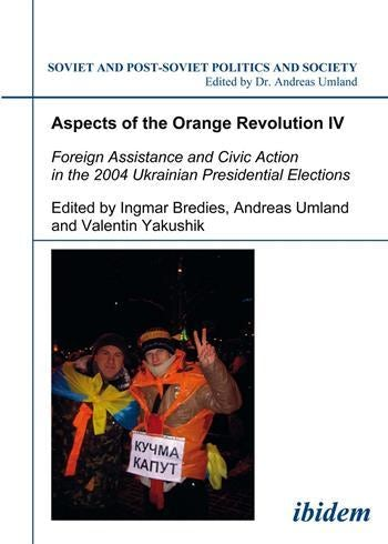 Aspects of the Orange Revolution IV
