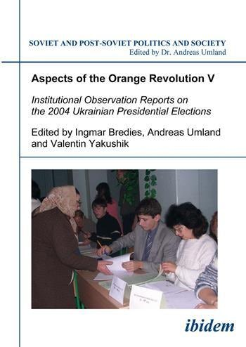Aspects of the Orange Revolution V