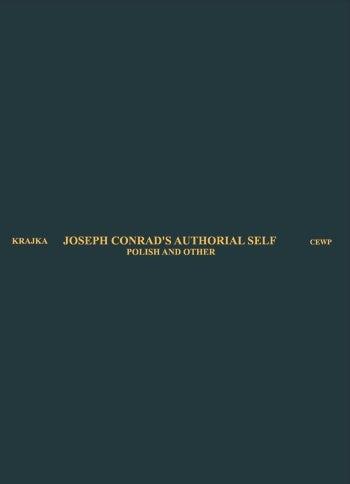 Joseph Conrad's Authorial Self